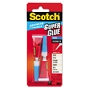 Scotch Single Use Super Glue, 1/2 Gram Tube, Liquid, 2/Pack
