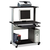 Mayline Eastwinds Multimedia Workstation, 36-3/4w x 21-1/4d x 50h, Anthracite