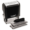 Self-Inking Do It Yourself Message Stamp, 3/4 x 1 7/8