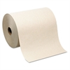 Hardwound Roll Paper Towel, Nonperforated, 7.87 x 1000ft, Brown, 6 Rolls/Carton