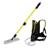 "Rubbermaid Commercial Flow Finishing System, 56"" Handle, 18"" Mop Head, Yellow"