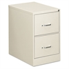 OIF Two-Drawer Economy Vertical File, Legal, 18 1/4w x 26 1/2d x 29h, Light Gray