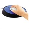 "Wrist Aid Ergonomic Circular Mouse Pad, 9"" dia., Cobalt"