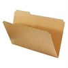 Universal Kraft File Folders, 1/3 Cut Assorted, Top Tab, Legal, Kraft, 100/Box