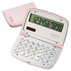 909-9 Limited Edition Pink Compact Calculator, 10-Digit LCD