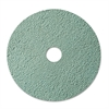"Burnish Floor Pad 3100, 20"" Diameter, Aqua, 5/Carton"