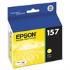 Epson T157420 (157) UltraChrome K3 Ink, Yellow