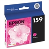 Epson T159320 (159) UltraChrome Hi-Gloss 2 Ink, Magenta