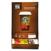 Starbucks VIA Ready Brew Coffee, 3/25oz, Italian Roast, 50/Box