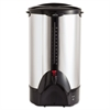 100-Cup Percolating Urn, Stainless Steel