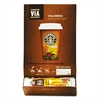 Starbucks VIA Ready Brew Coffee, 3/25oz, Colombia, 50/Box