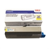 Oki 44318601 Toner, 11,500 Page-Yield, Yellow