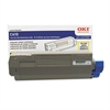 44315301 Toner, 6,000 Page-Yield, Yellow