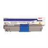 Oki 44469719 Toner, 5,000 Page Yield, Yellow