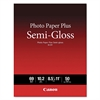 Canon Photo Paper Plus Semi-Gloss, 69 lbs., 8-1/2 x 11, 50 Sheets/Pack