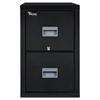 FireKing Patriot Insulated Two-Drawer Fire File, 20-3/4w x 31-5/8d x 27-3/4h, Black