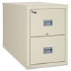 FireKing Patriot Insulated Two-Drawer Fire File, 20-3/4w x 31-5/8d x 27-3/4h, Parchment