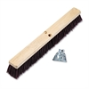 "Boardwalk Floor Brush Head, 3 1/4"" Maroon Stiff Polypropylene, 24"""