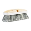 "Boardwalk Polystyrene Vehicle Brush w/Vinyl Bumper, 2 1/2"" Bristles, 10"" Brush"