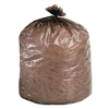 Stout Eco-Degradable Plastic Trash Bag, 20-30gal, .8mil, 30 x 36, Brown, 60/Box
