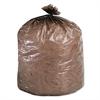 Stout Eco-Degradable Plastic Trash Bag, 20-30gal, .8mil, 30 x 36, Brown, 60/Box