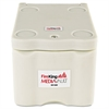 MediaVault, 0.2 cu. ft, 11 5/8 x 17 1/2 x 10 1/2, UL Listed 125° for Fire, White