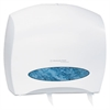 Windows JRT Jr. Escort Jumbo Roll Bath Tissue Dispenser, 16 x 5 4/5 x 14, White