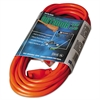 CCI Vinyl Outdoor Extension Cord, 25ft, 13 Amp, Orange