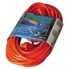 CCI Vinyl Outdoor Extension Cord, 50ft, 13 Amp, Orange