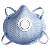 Moldex 2300N95 Series Particulate Respirator, Half-Face Mask, Medium/Large, 10/Box
