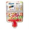 Moldex SparkPlugs PlugStation Dispenser, Cordless, 33NRR, Asst. Colors, 250 Pairs