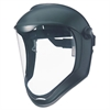 Honeywell Uvex Bionic Face Shield, Matte Black Frame, Clear Lens