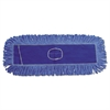 Boardwalk Mop Head, Dust, Looped-End, Cotton/Synthetic Fibers, 18 x 5, Blue
