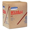 WypAll* L20 Wipers, 12 1/2 x 13, Brown, 68/Pack, 12 Packs/Carton