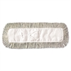 Boardwalk Mop Head, Dust, Cotton, 18 x 3, White