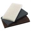 Boardwalk Heavy-Duty Brown Pads, 4 x 10, 20/Carton