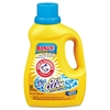 Arm & Hammer OxiClean Concentrated Liquid Laundry Detergent, Fresh, 61.25oz Bottle, 6/Carton