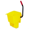 Rubbermaid Commercial WaveBrake Side-Press Wringer, Yellow