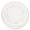Boardwalk Crystal-Clear Portion Cup Lids, Fits 1.5-2.5oz Cups, 2400/Carton