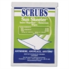 SCRUBS Sun Skeeter Insect Repellent/Sunscreen Wipes, 100/Carton