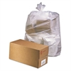 Industrial Drum Liners, 38 x 65, 60gal, 2.5mil, Clear, 50 Bags/Roll, 1 Rolls/CT