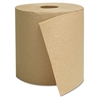 General Supply Hardwound Towels, Brown, 1-Ply, Brown, 800ft, 6 Rolls/Carton