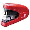 Flat Clinch Light Effort Stapler, 35-Sheet Capacity, Red