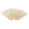 "Royal Round Wood Toothpicks, 2 3/4"", Natural, 19200/Carton"