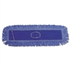 Boardwalk Dust Mop Head, Cotton/Synthetic Blend, 36 x 5, Looped-End, Blue