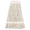Mop Head, Pro Loop Web/Tailband, Premium Standard Head, Cotton, 32-Oz., White