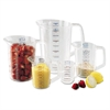 Rubbermaid Commercial Bouncer Measuring Cup, 8oz, Clear
