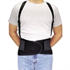Allegro Economy Back-Support Belt, Small, Black