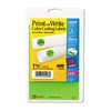 "Printable Removable Color-Coding Labels, 1 1/4"" dia, Neon Green, 400/Pack"