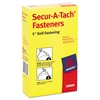 "Secur-A-Tach Tag Fasteners, Weatherproof Nylon, 5"" Long, 1,000/Box"